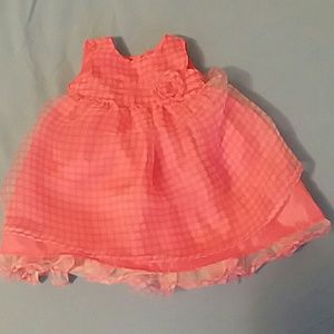 KIDTURE pink dots dress